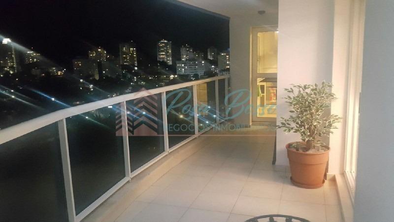apartamento en mansa, 3 dormitorios *-ref:4801