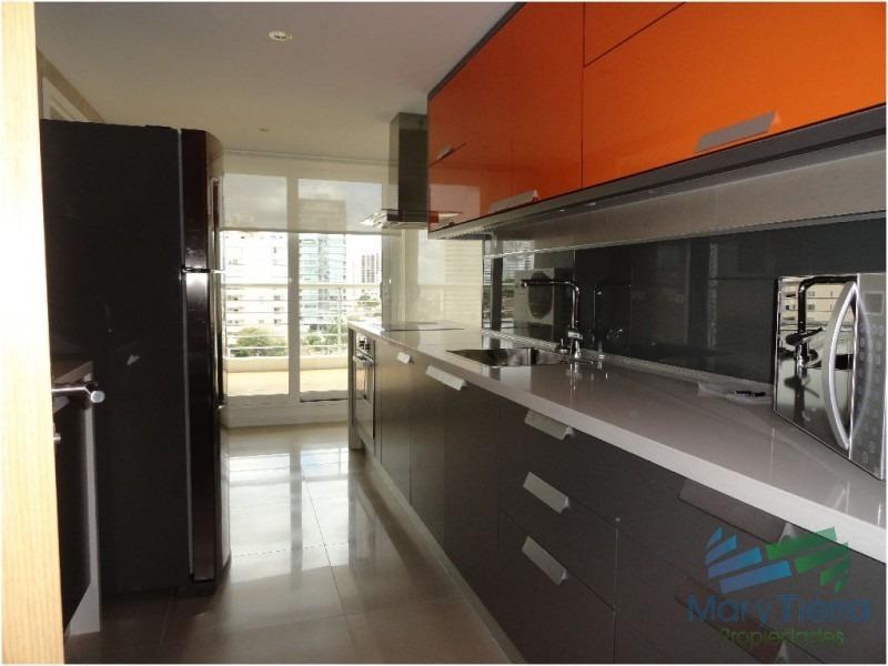 apartamento en mansa, 3 dormitorios *-ref:515