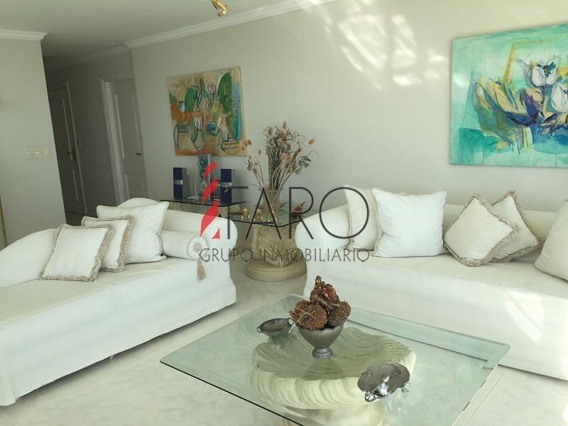 apartamento en mansa 3 dormitorios y dependencia con garage-ref:36385