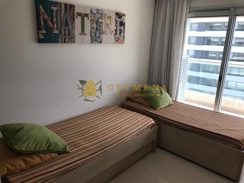 apartamento en muy buena ubicacion en la brava, de 2 dor, 2 baños, balcon y garaje. consulte!!!!!!-ref:2226