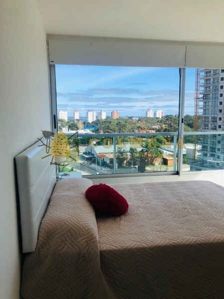 apartamento en muy buena ubicacion, en roosevelt de 2 dor con linda vista.- ref: 2057