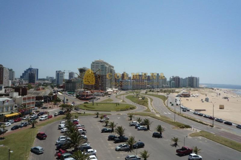 apartamento en muy buena ubicacion, monoambiente con muy buena vista a la playa y entrada a punta del este. consulte !!!!!!!-ref:1670