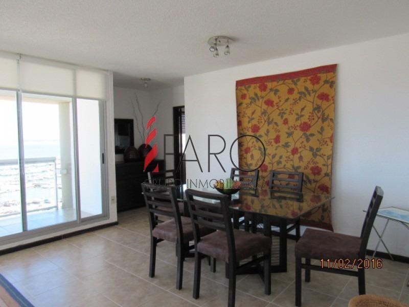 apartamento en península 3 dormitorios y dependencia con balcón y garage-ref:34495