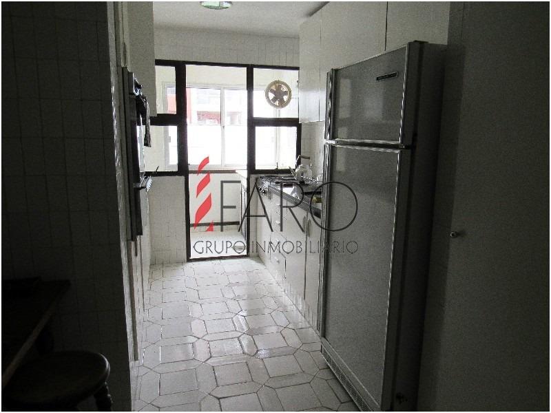 apartamento en península 3 dormitorios y servicio con terraza y garage-ref:35853