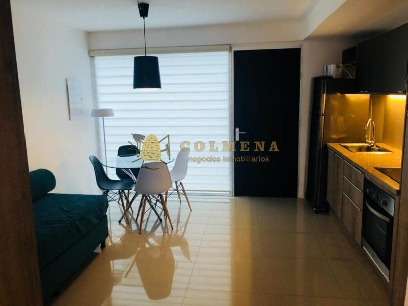 apartamento en peninsula a 2 cuadras del puerto, monoambiente totalmente equipado con balcón! incluye garage. consulte!!!!!!-ref:1220