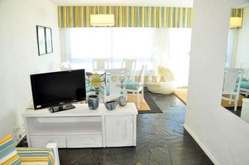 apartamento en peninsula muy bien ubicado, de 2 dormitorios 2 baños con garaje. muy luninoso. - ref: 1173