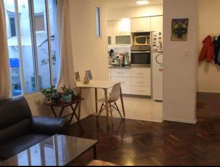 apartamento en planta baja con patio