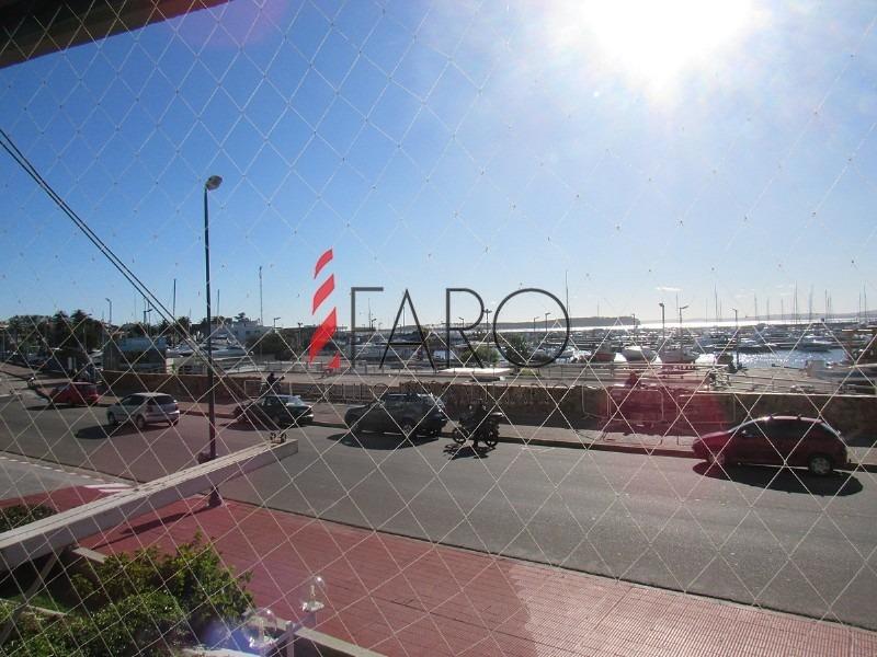 apartamento en puerto 2 1/2 dormitorios c/terraza- ref: 35817