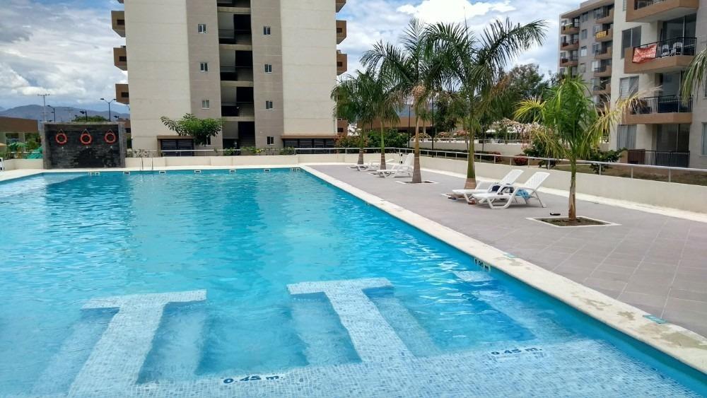apartamento en ricaurte - girardot 2 habitaciones, piscina