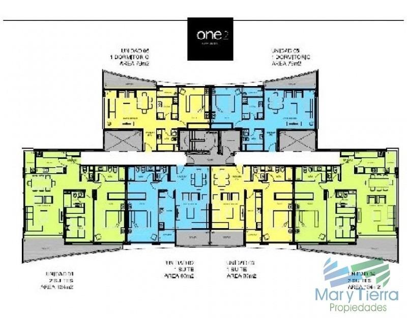 apartamento en roosevelt, 1 dormitorios *-ref:1421
