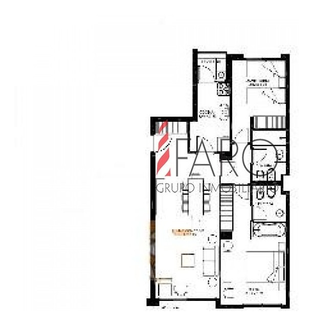 apartamento en roosevelt 2 dormitorios con cochera-ref:33144