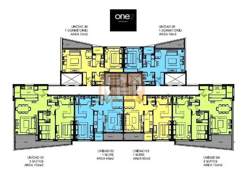 apartamento en roosevelt, 2 dormitorios *-ref:15191