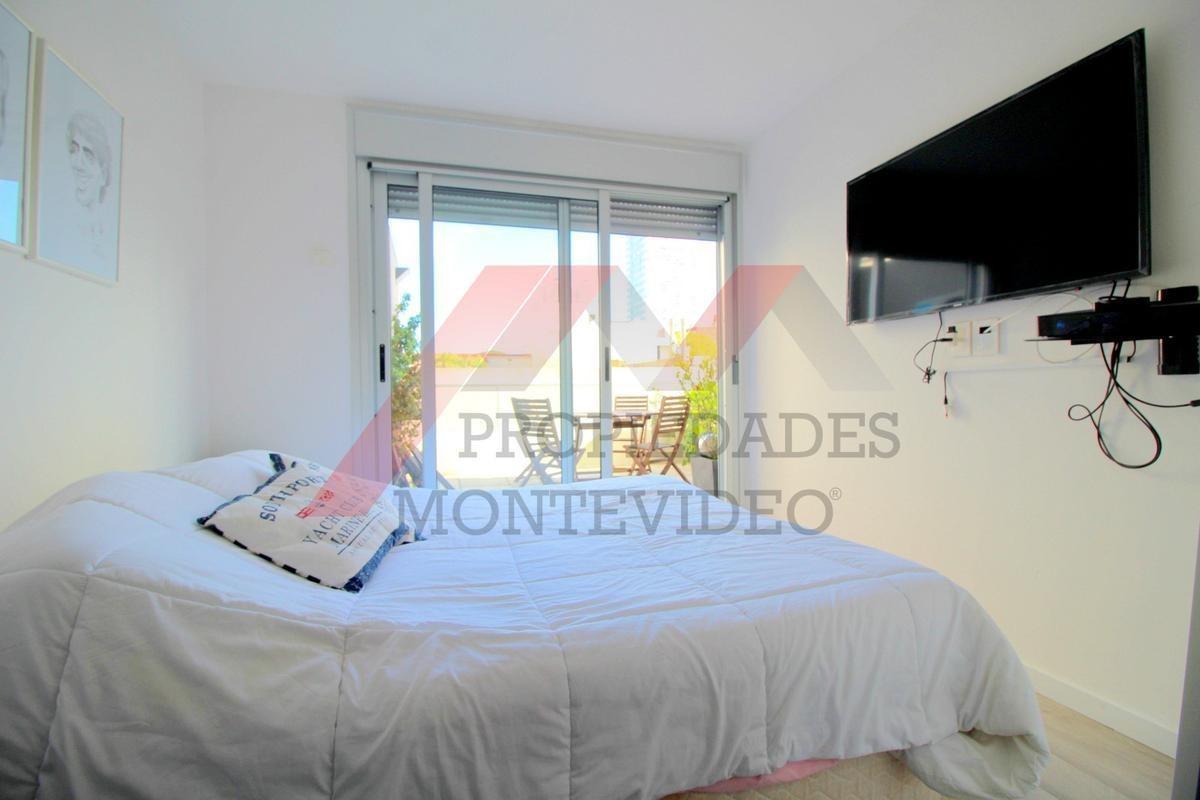 apartamento en venta 1 dormitorio - punta carretas