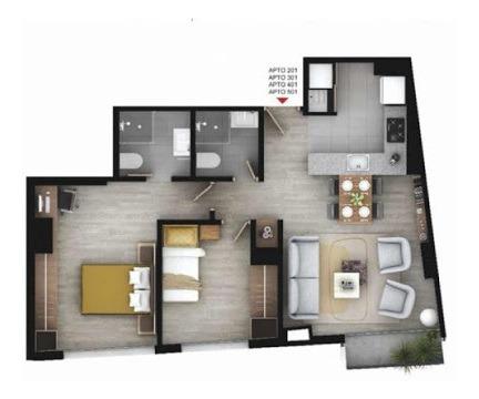 apartamento en venta chapinero alto 90-55932