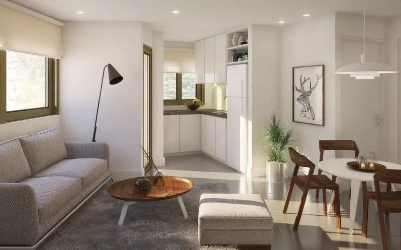 apartamento en venta de 2 dormitorios en bella vista