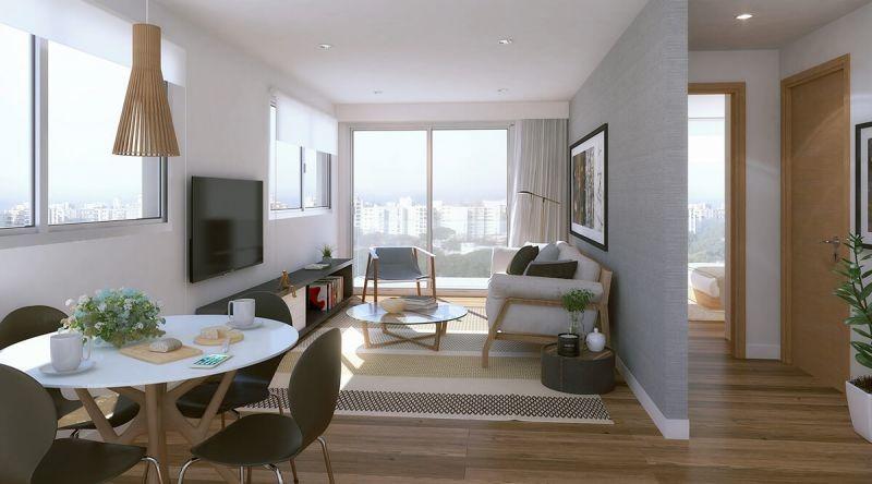 apartamento en venta de 2 dormitorios en punta carretas
