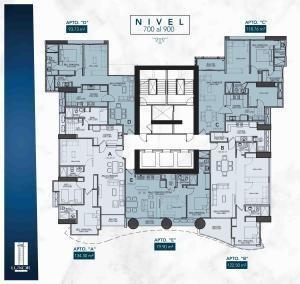 apartamento en venta el cangrejo luxor towers400#20-451hel**