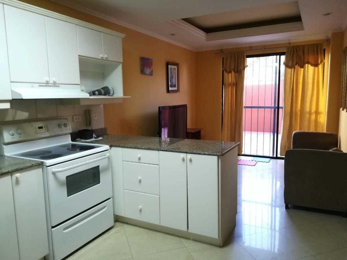 apartamento en venta en edificio real de la villa, zona 10