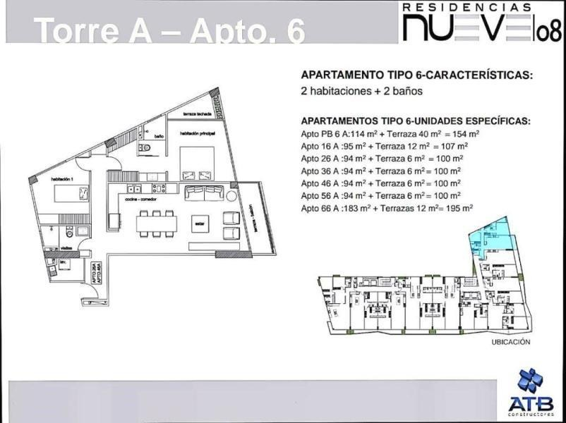 apartamento en venta en las mercedes mls 17-6021