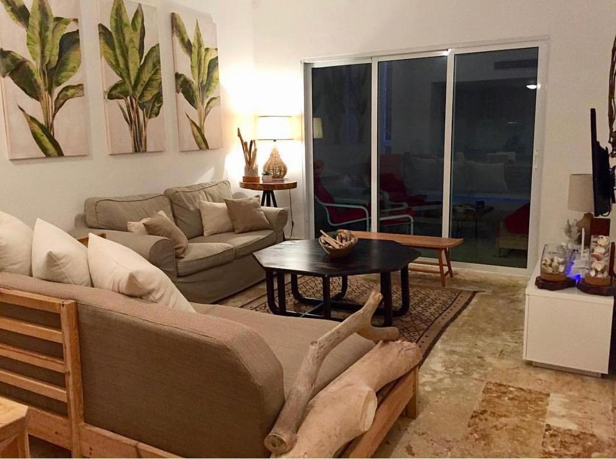apartamento en venta en playa nueva romana