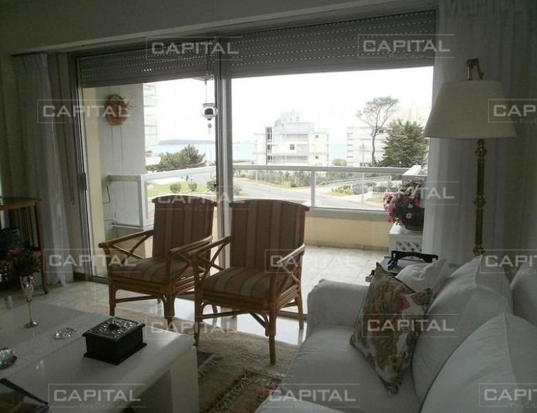 apartamento en venta fragata - playa mansa muy linda vista -ref:25329