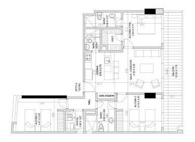 apartamento en venta mar del cristal 90-56366