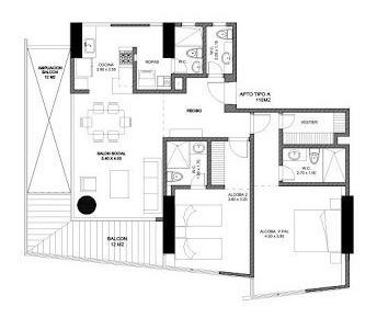 apartamento en venta mar del cristal 90-56369