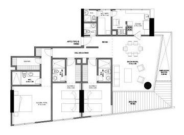 apartamento en venta mar del cristal 90-56370