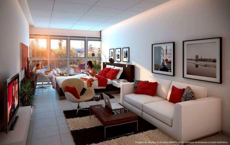 apartamento en venta - monoambiente en pocitos nuevo