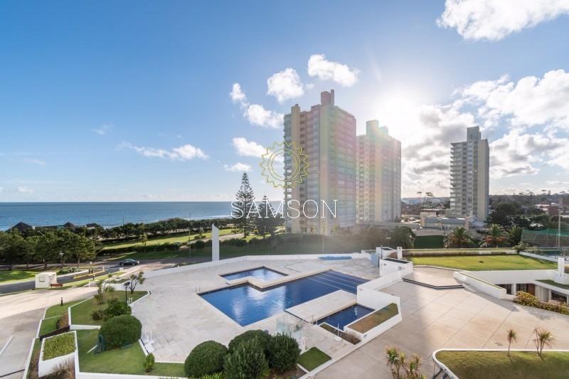 apartamento en venta, playa mansa, vista al mar- ref: 63684
