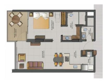 apartamento en venta pozos colorados 90-10123