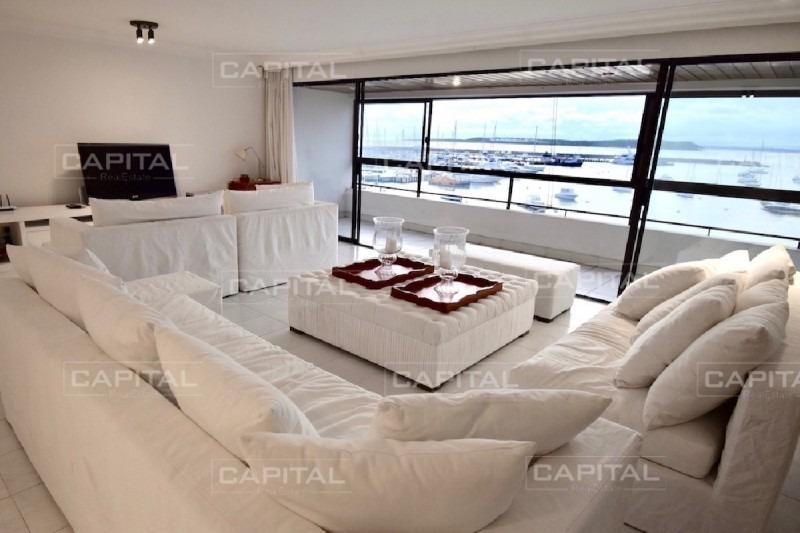 apartamento en venta puerto de punta del este-ref:26781