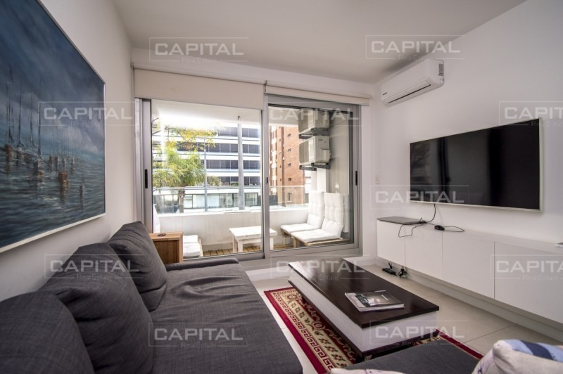 apartamento en venta  punta del este bien equipado un dormitorio-ref:26624