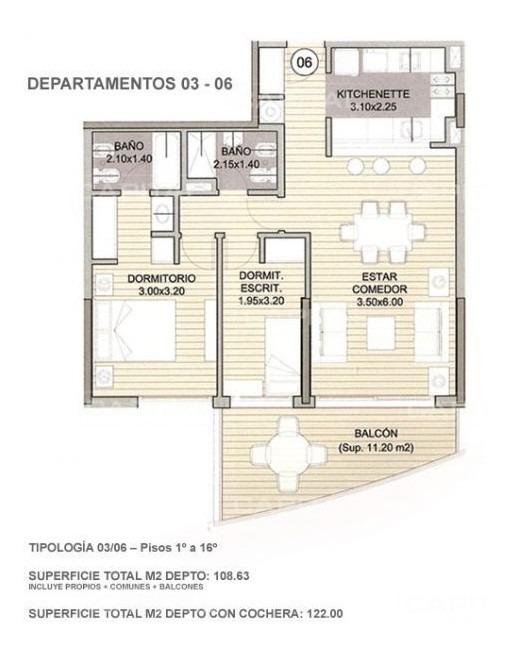 apartamento en venta punta del este + forest tower-ref:27490