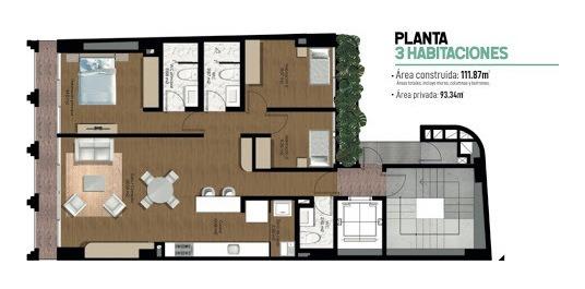 apartamento en venta simon bolivar 472-1219