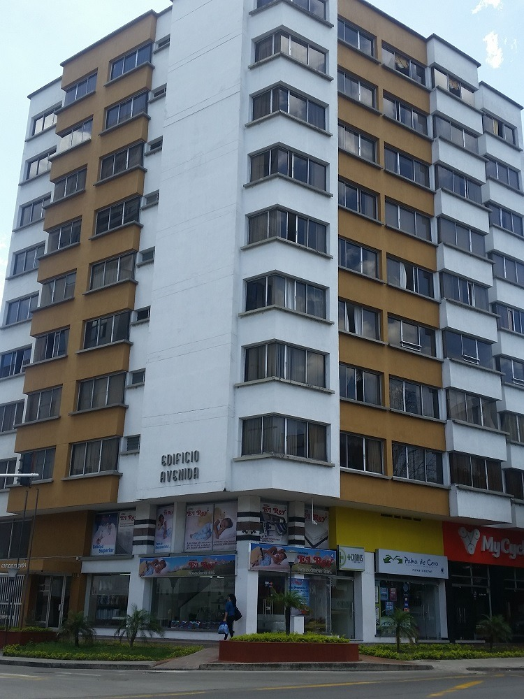 apartamento en venta sobre av bolivar, armenia