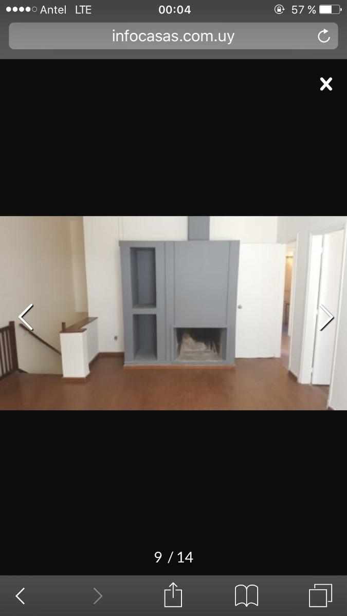 apartamento en venta tipo casa en buceo