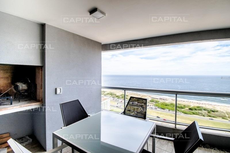apartamento en venta y alquiler en playa brava punta del este-ref:27548