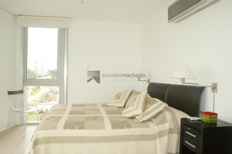 apartamento en venta y alquiler temporario brava 3 dormitorios- ref: 59