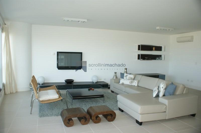 apartamento en venta y alquiler temporario brava 3 dormitorios- ref: 655