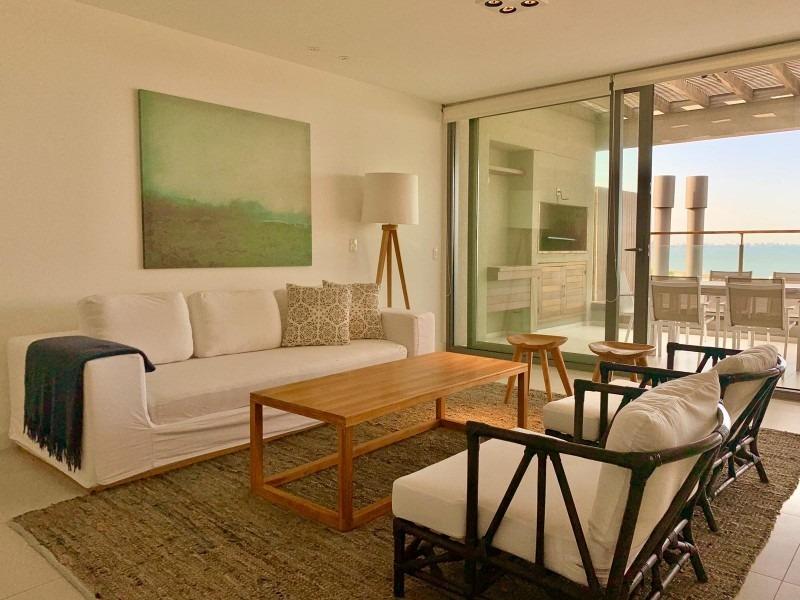 apartamento en venta y alquiler temporario en exclusiva zona de punta ballena-ref:2819