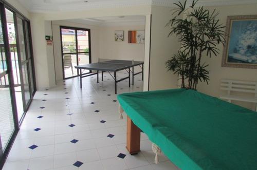 apartamento espaçoso 2 dormitório c/ suite centr do caiçara