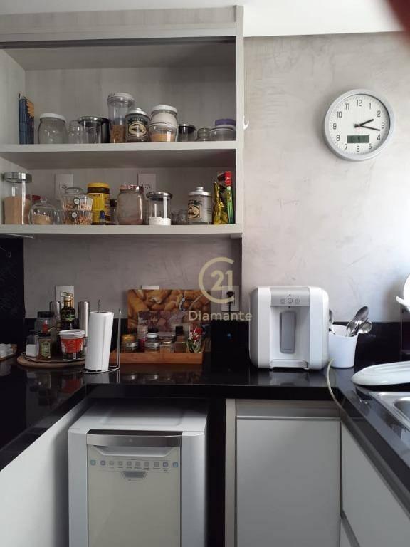 apartamento especial no brooklin paulista - 4 dormitórios, sendo 1 suíte, 2 garagens à venda, 140 m² por r$ 1.378.000. - ap7640