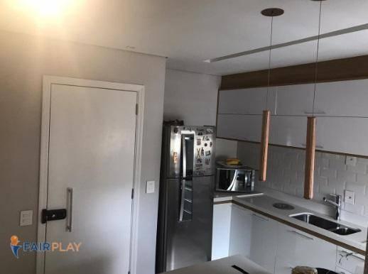 apartamento estilo flat 1 dormitorio mobiliado com lazer na vila olimpia - ap5021