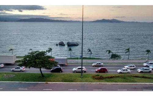 apartamento exclusivo na beira mar 4 suítes 4 vagas vista total para o mar!