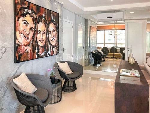 apartamento finamente mobiliado 4 suítes itapema - 1166