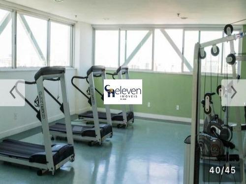 apartamento / flat mobiliado venda caminho das arvores, salvador 1 qiarto, 1 sala, banheiro, 1 vaga, 30 m². - ap00724 - 32394938