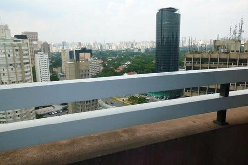 apartamento flat residencial mobiliado para venda e locação, itaim bibi, são paulo - fl0013. - fl0013