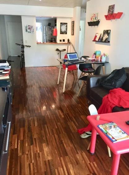 apartamento. fleming y almirón. garaje y suite.