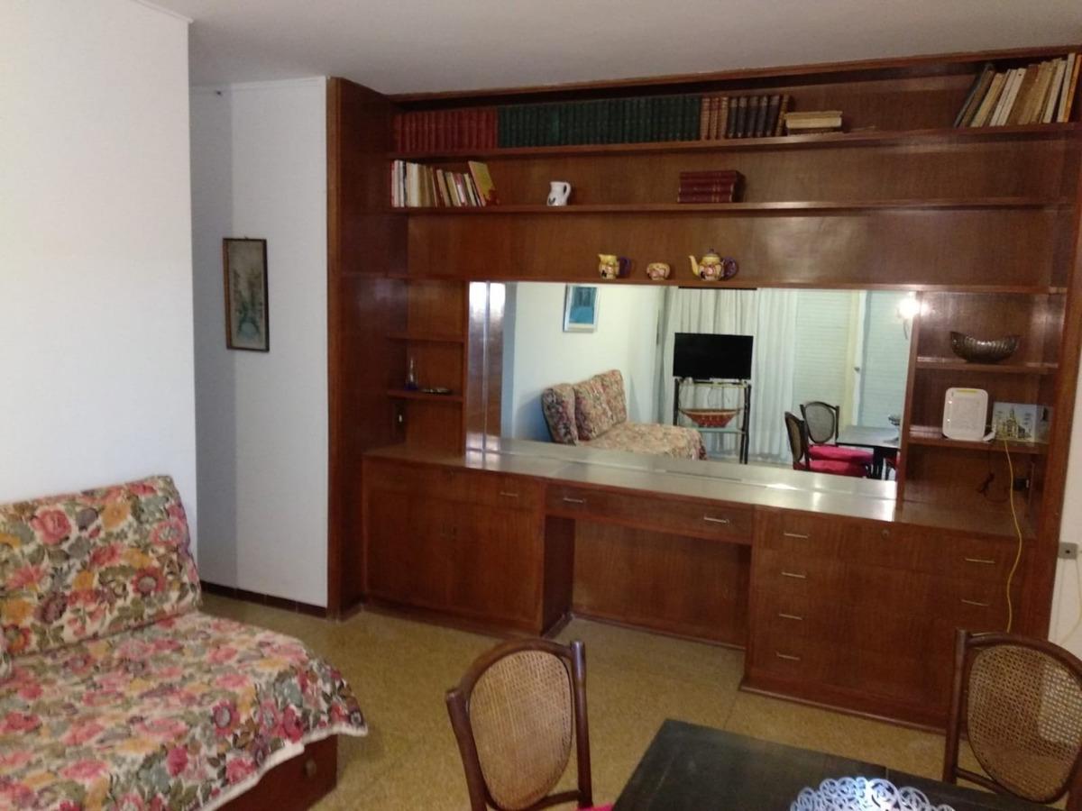 apartamento frente al mar, piso alto, 2 amb, baño y cocina